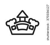 jumping castle | Shutterstock .eps vector #370336127