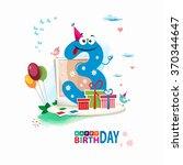 Third Birthday Card. Happy...