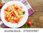 Penne Pasta With Shrimps ...