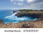Surf On The Rocks Near The...