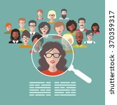 vector concept of human... | Shutterstock .eps vector #370359317