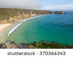 Porthcurno Beach Cornwall...