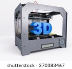 3d render of 3 dimensional ... | Shutterstock . vector #370383467