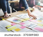 business people meeting design... | Shutterstock . vector #370389383