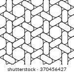 abstract geometry graphic ... | Shutterstock .eps vector #370456427