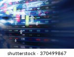 stock market background design | Shutterstock . vector #370499867