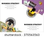 flat design illustration... | Shutterstock .eps vector #370563563