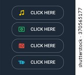 set of the web buttons in... | Shutterstock .eps vector #370565177