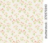 seamless watercolor pattern on... | Shutterstock . vector #370570343