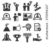 success icon set | Shutterstock .eps vector #370596107