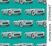 seamless pattern with retro... | Shutterstock .eps vector #370596467