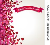 abstract valentines day... | Shutterstock .eps vector #370597907