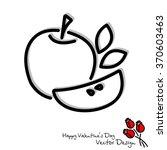 web line icon. apple | Shutterstock .eps vector #370603463