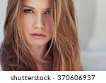 beautiful woman | Shutterstock . vector #370606937