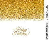 holiday postcard  | Shutterstock . vector #370640687