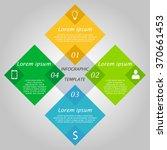 abstract hexagon digital...   Shutterstock .eps vector #370661453