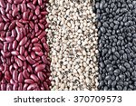 Постер, плакат: kidney beans black eyed beans