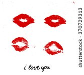 handwritten ink lettering.... | Shutterstock .eps vector #370729313