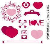 love set | Shutterstock .eps vector #370731563