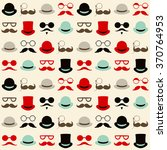seamless vector pattern with... | Shutterstock .eps vector #370764953