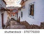 Cuzco Peru  View Of San Blas...