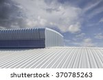 metal sheet  roofing on... | Shutterstock . vector #370785263