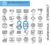 search engine optimization  ... | Shutterstock .eps vector #370828817