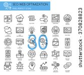 search engine optimization  ... | Shutterstock .eps vector #370828823