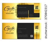 gift voucher. vector ...   Shutterstock .eps vector #370842317