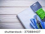soft twist tie protective... | Shutterstock . vector #370884437