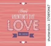 vintage greeting card design... | Shutterstock .eps vector #370893467