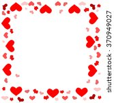 valentine background. vector  | Shutterstock .eps vector #370949027