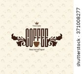 restaurant or coffee house menu ... | Shutterstock .eps vector #371008277