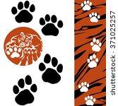 Tiger   Paw Print . Animal...