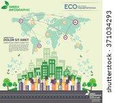 green information eco... | Shutterstock .eps vector #371034293