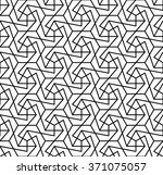 abstract geometric graphic... | Shutterstock .eps vector #371075057