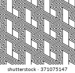 abstract geometric graphic... | Shutterstock .eps vector #371075147