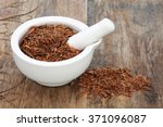 catuaba bark herb used in...   Shutterstock . vector #371096087
