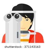 patient visiting...   Shutterstock .eps vector #371143163