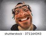 Bearded Crazy Person Lunatic...