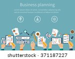 concepts business  teamwork... | Shutterstock .eps vector #371187227