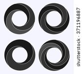 Mobius Strip. Circular Shape...
