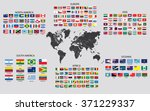 country maps of the world | Shutterstock . vector #371229337