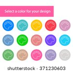 vector modern colorful paints...