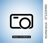 camera vector icon 10 eps