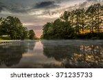 view of the river fyris in... | Shutterstock . vector #371235733