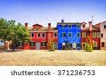 venice landmark  burano island...   Shutterstock . vector #371236753
