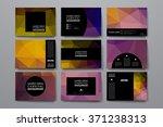 set of modern design banner... | Shutterstock .eps vector #371238313