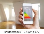 energy efficiency rating on... | Shutterstock . vector #371245177