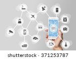 internet of things  iot ... | Shutterstock . vector #371253787